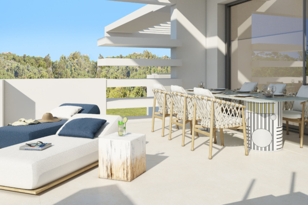 3 Bedroom, 3 Bathroom Apartment For Sale in La Meridiana, Golden Mile