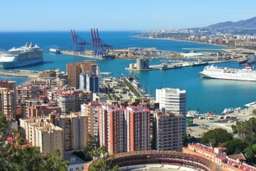 Malaga Cruise Port & Old Town