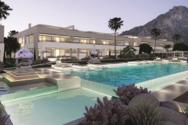 3 Bedroom, 3 Bathroom, Penthouse for Sale in Marbella Golden Mile