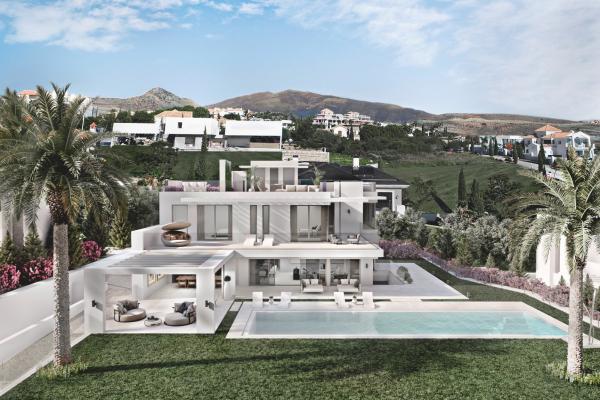 5 Bedroom, 7 Bathroom Villa For Sale in Los Flamingos, Benahavis